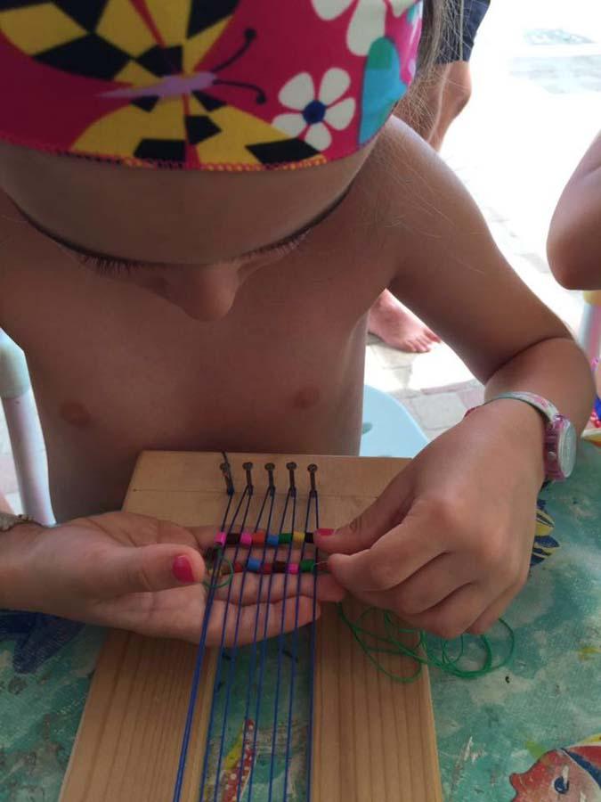 bambini gioco al Bagno Fafin Cesenatico