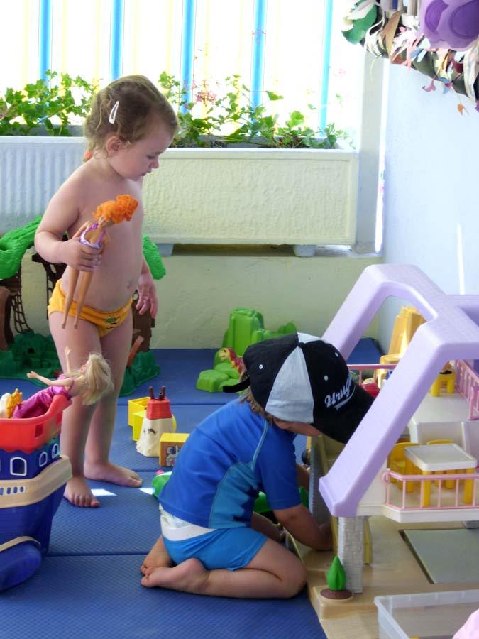 bambini giochi Bagno Fafin Cesenatico
